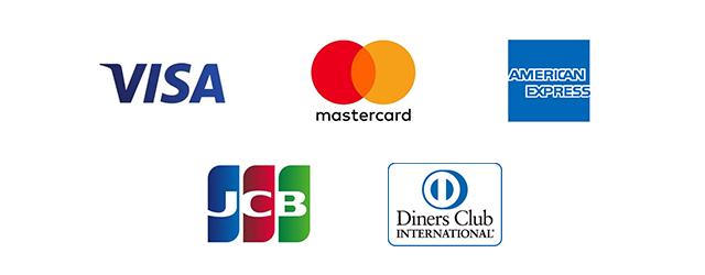 対応可能クレジットカード